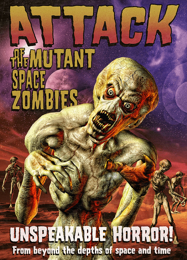 Mutant Space Zombies