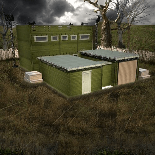 Zombie Fortification Cabin