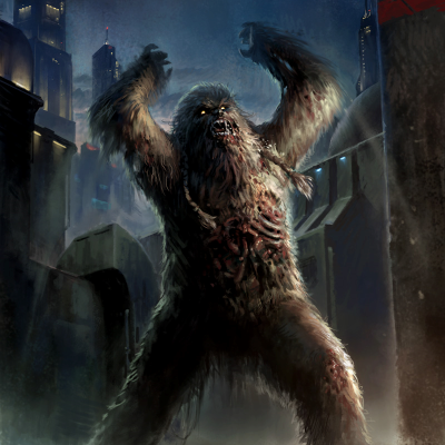 Zombified Wookie